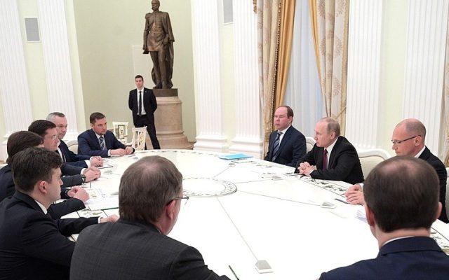 Глеб Никитин отчитался перед президентом