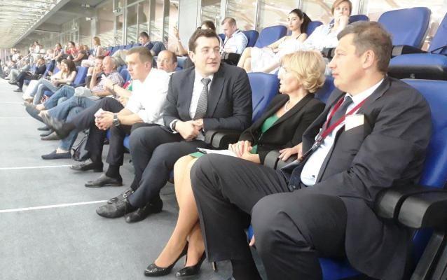 Развитие спорта в регионе