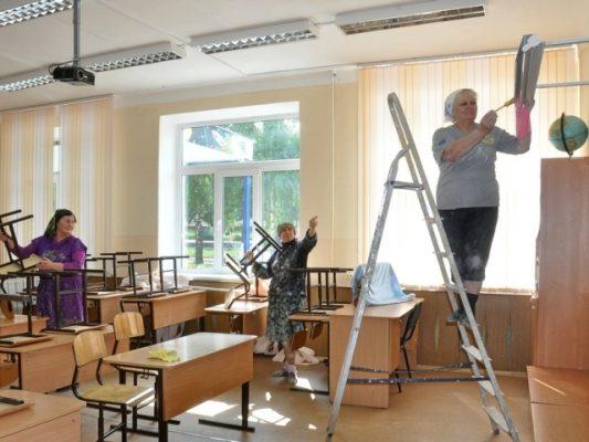 Капитальный ремонт учреждений образования