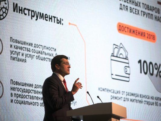 Глеб Никитин подвел итоги и обозначил приоритеты на будущее