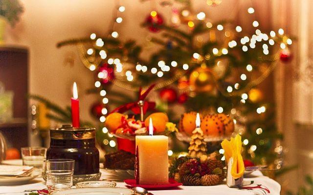 Новогодний стол по-тоншаевски