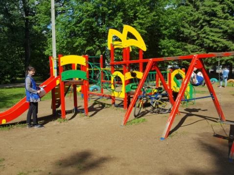 Мониторинг детских площадок