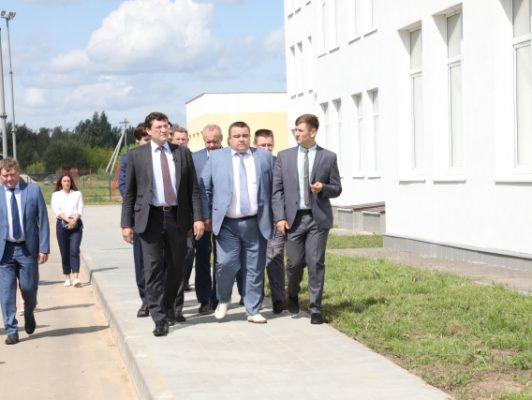 Губернатор Нижегородской области ответил на вопросы журналистов во время рабочего визита в Дальнеконстантиновский район