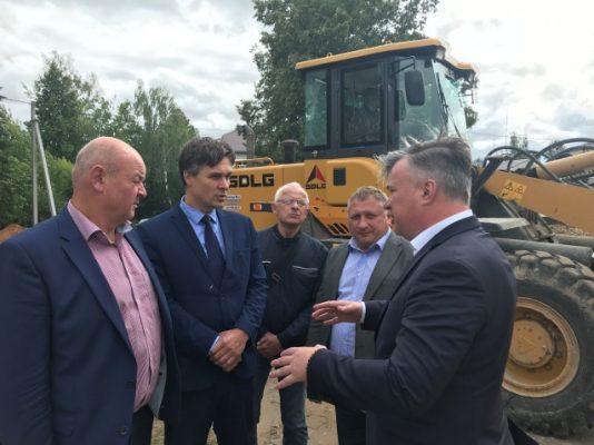 Депутат Госдумы посетил объекты по проекту «Городская среда» в четырех северных районах Нижегородской области.