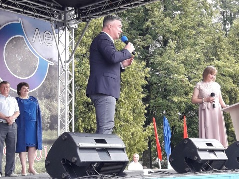 Депутат Госдумыпоздравил с 90-летием родного края жителей Тоншаевского района