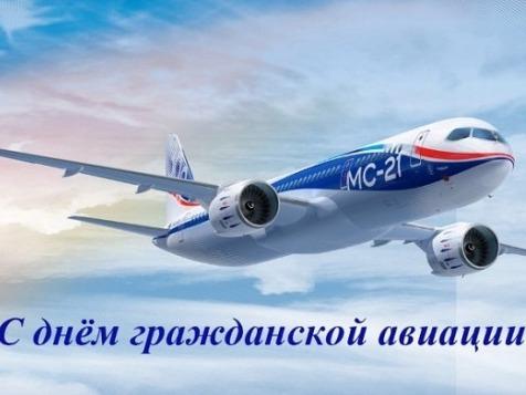 Поздравление губернатора Нижегородской области Глеба Никитина с Днем авиации.
