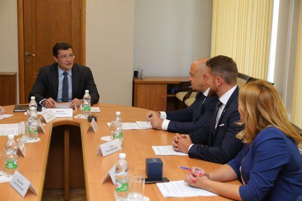 Глеб Никитин обсудил сотрудничество Нижегородской области с «Деловой Россией»