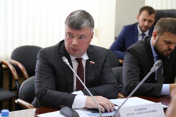 Артем Кавинов: «Материальная помощь студентам не будет облагаться НДФЛ »