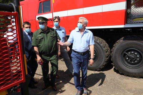 Нижегородская область вошла в 10 регионов-лидеров России по эффективности системы охраны лесов от пожаров
